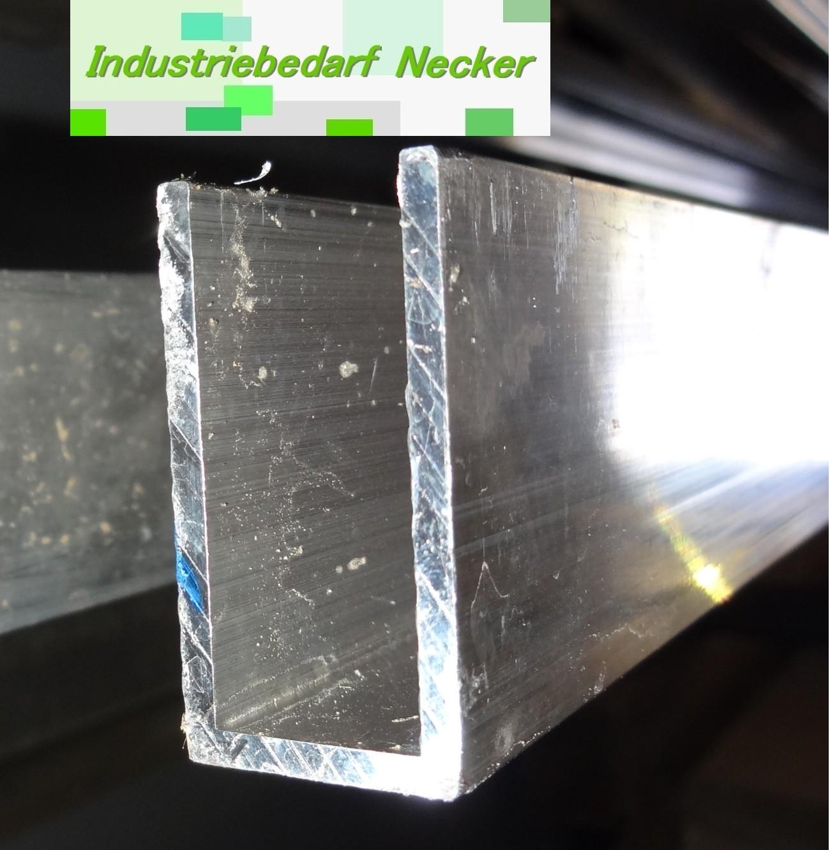 alu aluminium u profil 20x40x2 5 mm 40x20x2 5mm schnittl nge 1m ebay. Black Bedroom Furniture Sets. Home Design Ideas