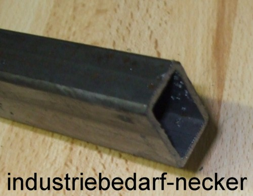 stahl rechteckrohr 20x10x1 5 mm schnittl nge 1m. Black Bedroom Furniture Sets. Home Design Ideas